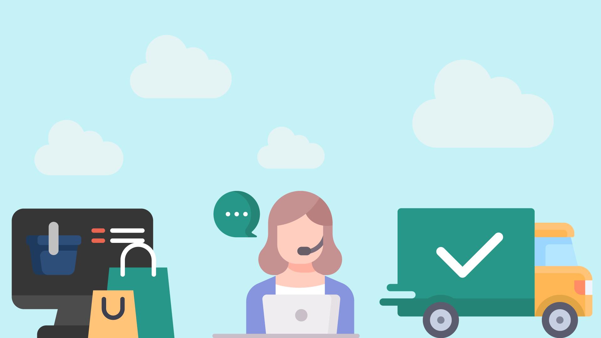 COVID Impact & Customer Service in e-Commerce (Infographic)