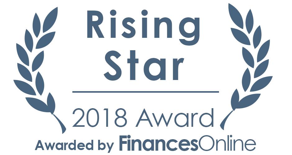 FinancesOnline Rising Star 2018 Award
