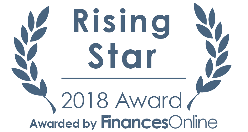 FinancesOnline Rising Star 2018 Award