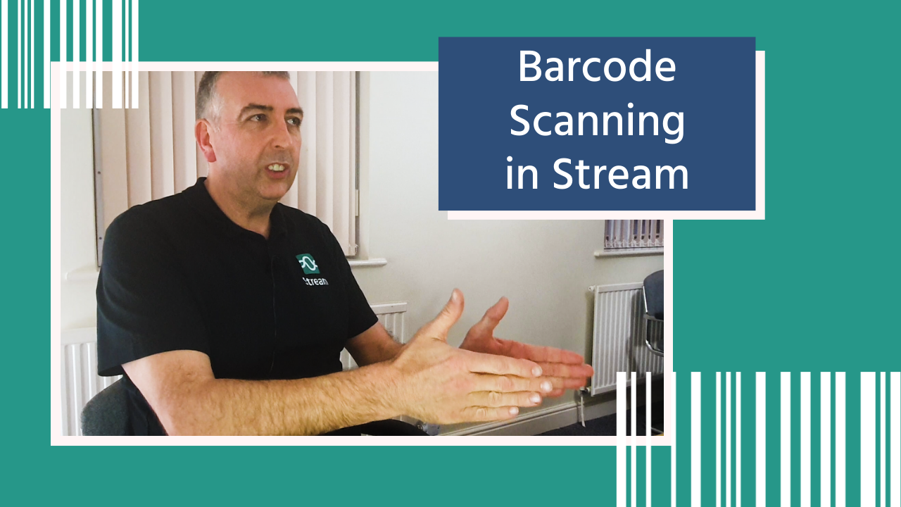 Barcode Scanning in Stream