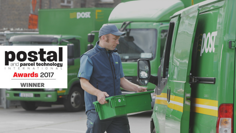 Proximity, An Post and DB Schenker Win Major International Post & Parcel Technology Award