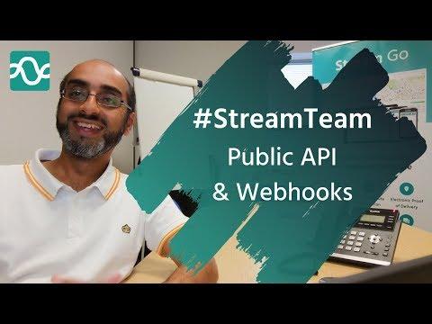 Stream's public API & Webhooks