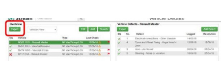 Stream Check fleet software vehicle reporting