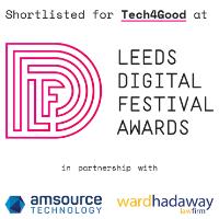 Leeds Digital Festival 2019 Tech4Good Award Shortlist