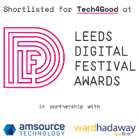 Leeds Digital Festival 2019 Tech4Good Award Shortlist